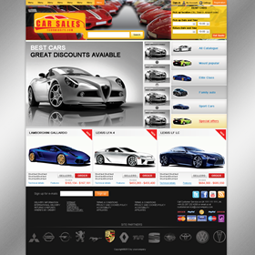 Websites: Car rent Services